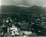 Aerial view of campus, Pomona College