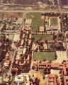 Aerial view of campus, Claremont McKenna College
