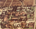 Aerial view of campus, Scripps College