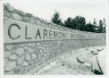 9th Street entrance, Claremont McKenna College