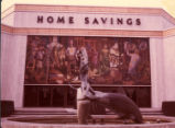 Mural by Millard Sheets at Home Savings, Scripps College