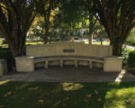 Richard Poorbaugh Edmunds bench, Pomona College