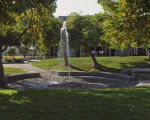 Pellissier Fountain, Pitzer College