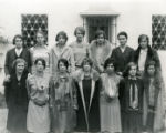 Executive and advisory committees of student body, Scripps College, 1928-29