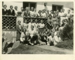 Scripps college students by residence hall, 1933