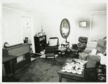 Living room, Padelford house
