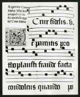 Page of 16th century Gradual, Denison Library, Scripps