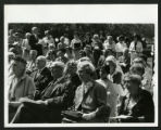Audience at the Drake Wing Dedication, Scripps College