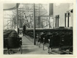 Dismantling the Holmes Hall chapel, Pomona College