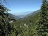 View of Mt. Baldy, looking west from the area of our Wednesday lunch spot