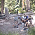 Lunch and time to rest at camp