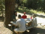Card game after the hike