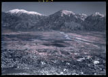 Aerial view of Claremont and Mt. Baldy