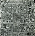 Aerial view of Claremont, 1975