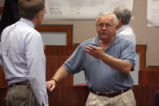 Rick Hazlett and George Gorse at Sustainability Presentations Day 2007