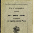 Annual report of the Bureau of Los Angeles Aqueduct Power, June 30, 1910
