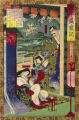 Taira no Kiyomori and Lady Tokiwa gozen