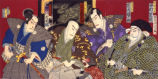 Kabuki theater print: Our country's 24 examples of filial piety