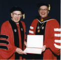 St. John's University convocation, 1996-04-12; A-1