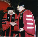St. John's University convocation, 1996-04-12; A-12