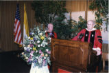 St. John's University convocation, 1996-04-12; A-37