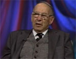 Peter Drucker speaks to conference in Washington, DC, 1995-10-31