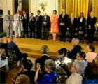 Presidential Medal of Freedom ceremony, 2002-07-09