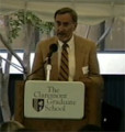 Peter F. Drucker Center dedication day, 1987-10-21