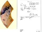 Postcard from Peter Drucker to Dale Zand, 1987-05-09
