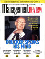 Management Review interview article featuring Peter F. Drucker