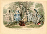 Children's fashions, 1847