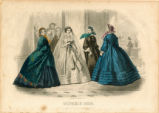 Bridal fashions, Autumn 1860