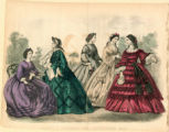 American fashions, Autumn 1862