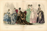 Paris fashions, Winter 1873