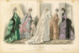 Bridal fashions, Winter 1873