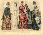 Bridal fashions, Autumn 1876