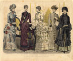 American fashions, Winter 1884