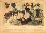 Hats and hairstyles, Spring 1894