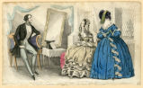 In the parlor, Winter 1841
