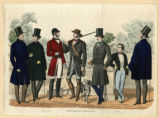 Gentlemen's attire, Autumn 1855