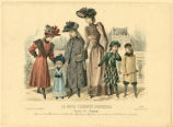 Spanish fashions for a family, Winter 1890