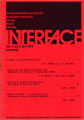 Interface Journal vol 1, no 1, January 1973