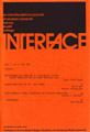 Interface Journal vol 7, no 1, May 1980