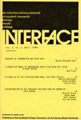 Interface Journal vol 6, no 1, April 1979