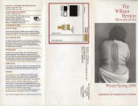 The William Benton Museum of Art brochure