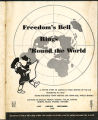 Freedom's bell rings 'round the world, 1949