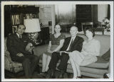 Mr. and Mrs. Frank Polkinghorn with two individuals