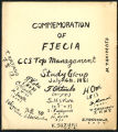 Commemoration of FJECIA, 1961-07-04