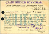 Grant Heights commissary, 1948-11-27