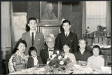 Mori family and Iwadare family, 1958-11-16